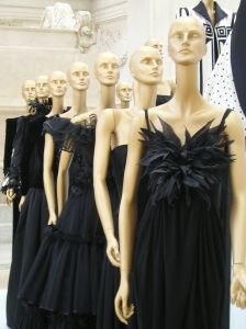 Valentino black dresses